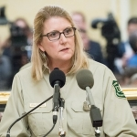 Forest Service Chief Vicki Christiansen. (U.S. Department of Agriculture, Public Domain)