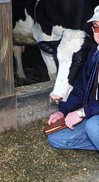 UNH dairy researcher nationally recognized