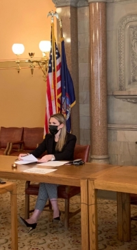 Senator Hinchey convenes first Agriculture Committee meeting