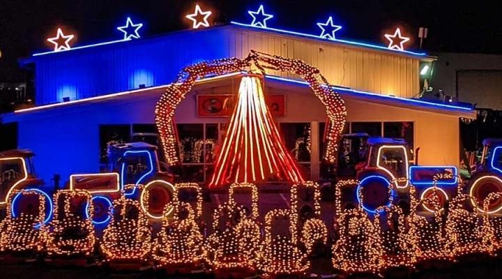 Messick Christmas Lights 2021 Messick S 2020 Christmas Light Show Raises Over 62 000 Morning Ag Clips