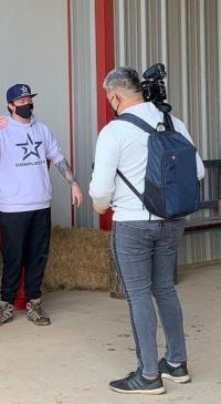 Dairy farming meets gaming: Esports athlete visits local farm