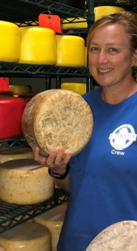 Podcast features conversation about rewards, challenges of cheese-making
