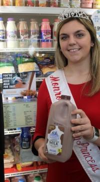 NY Dairy Princesses help drive retail chocolate milk sales